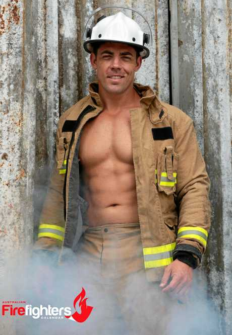 Toowoomba firefighter Josh Praeger is featured in the Australian Firefighters 2018 calendar.