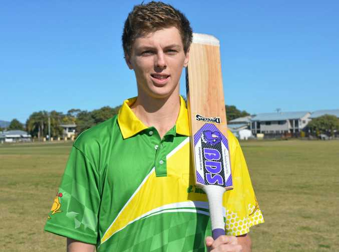 NEW CHALLENGE: Toowoomba Dragons indoor cricketer Jeremy Crighton.