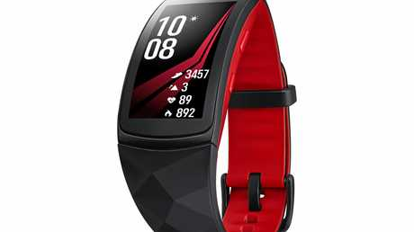 Don't let the stylish look of the Gear Fit2 Pro fool you; it's not lacking in high-tech features including advanced built-in GPS tracking to capture your run or ride