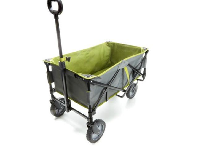 The foldable beach trolley. Image: KmartSource:Supplied