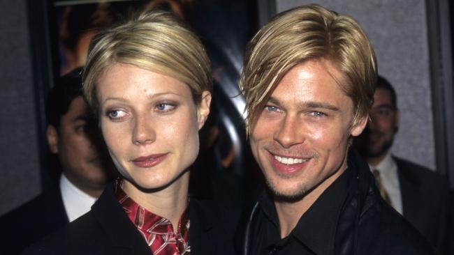 Gwyneth Paltrow and Brad Pitt dated in the '90s.