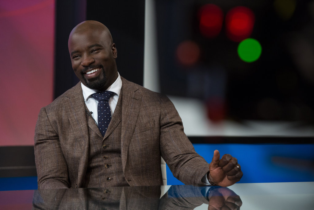 Mike Colter in a scene from the movie Girls Trip.
