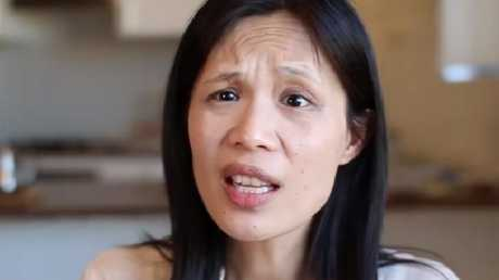Dr Lai as she appears in the 'vote no' TV campaign.Source:Supplied
