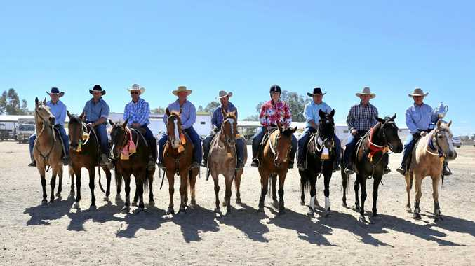 CAMPDRAFT: Dirranbandi played host to some great action on the weekend, including the John Hoath Memorial Open won by PJ Cookson riding Paradise.