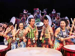 Japanese spirit felt through drum beats