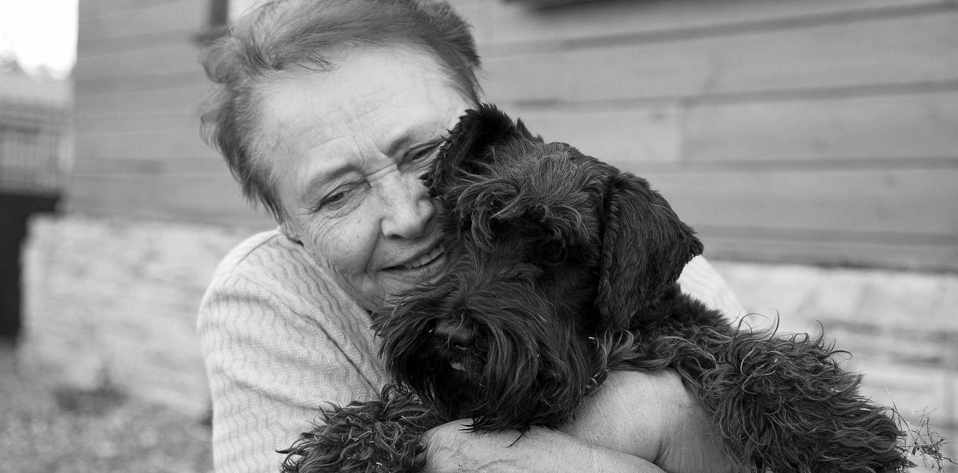 PETS AND AGEING: The bond between a human, and a pet is a very powerful thing.