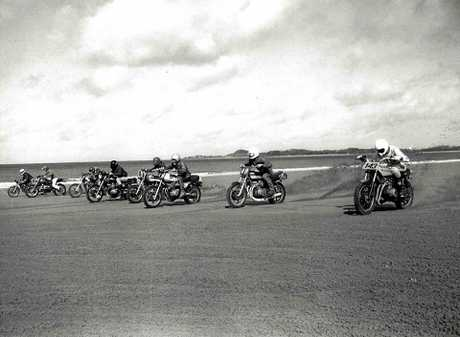 HISTORY: From past to present the motorcycle beach races have been around for 90 years.