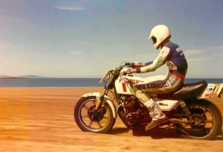 MEMORIES: The beach racing has been carried on for generations and is more popular now then ever.