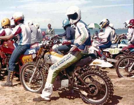 GOOD OLD DAYS: The visuals haven't changed to much but the calibre of the bikes has.