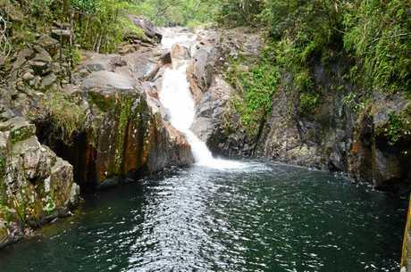 Araluen Falls at Finch Hatton Gorge.
