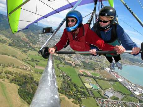 Tandem Hang gliding in Nelson, NZ Photo Contributed