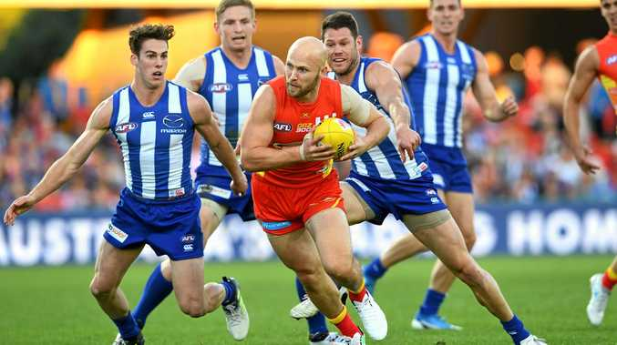 Suns player Gary Ablett during the round 15 match against the Kangaroos.