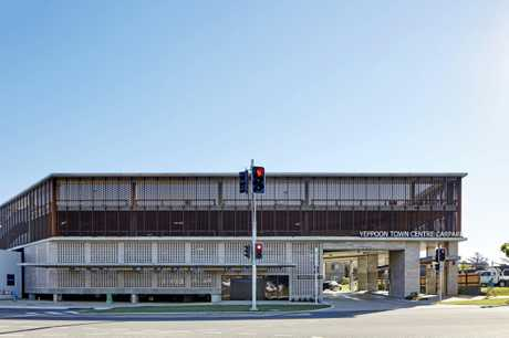 INNOVATIVE DESIGN: The Yeppoon Town Centre car park won the Best Commercial Building over $5m.