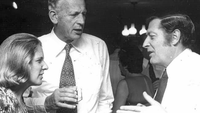 Doug Everingham (right) was the federal member for Capricornia twice, from 1967 to 1975, and 1977 to 1984.