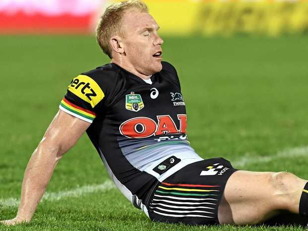 Panthers hooker Peter Wallace has battled his fair share of injuries during his career.