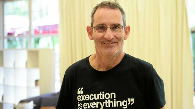 ROLE MODEL: Steve Baxter was yesterday named Queensland's chief entrepreneur.