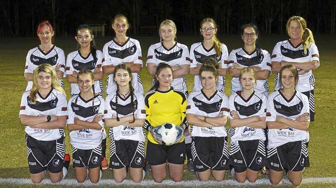 FINAL: Doon Villa's Fraser Coast 1st Division Ladies team.