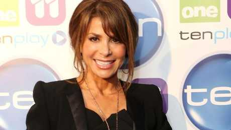 Paula Abdul at the Channel 10 upfronts.