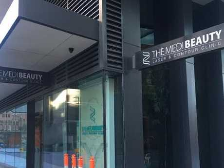 The Medi Beauty Centre, Central Park, Chippendale where the procedure was carried out.