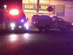 Police shoot man dead