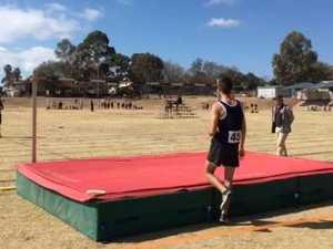Justyn Rogers high jump
