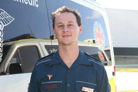 Critical Care Paramedic Jack Williams.