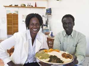 Refugees serve up Sudanese classics at new restaurant