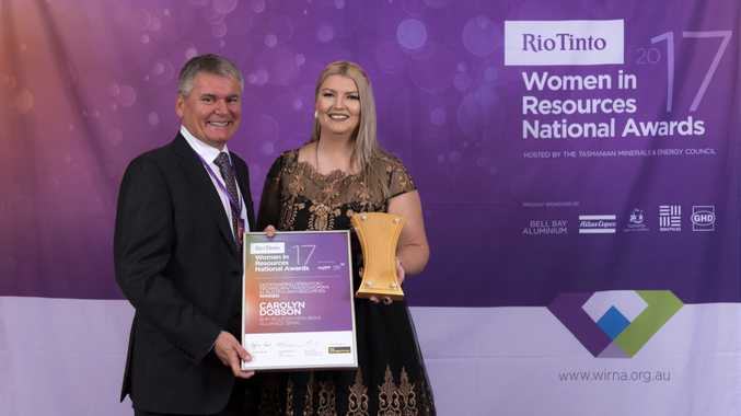 Carolyn Dobson has won the national Women in Resource award.