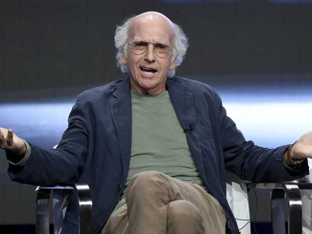 Comedian Larry David is the writer and star of Curb Your Enthusiasm