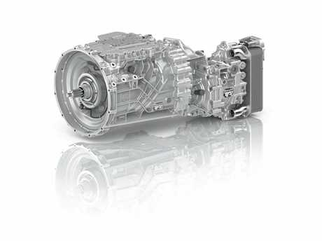In the TraXon transmission, the integrated  auxiliary brake reduces  wear on  service brakes.