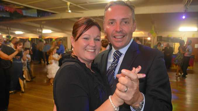 HAPPY COUPLE: Nicky and Sean Choat at the Marburg Show Society Ball.