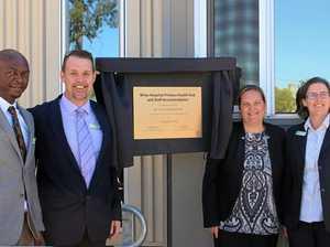 Miles Hospital primary health hub opened
