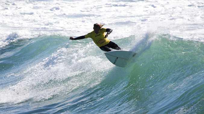 Emerald Beach surfer John Schmidenberg finished runner-up in the over-50s division of the Australian Surf Festival at Duranbah Beach.