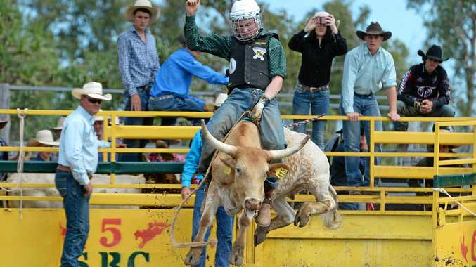 SADDLE UP: St Brendan's Rodeo will be in full swing this weekend in Yeppoon.