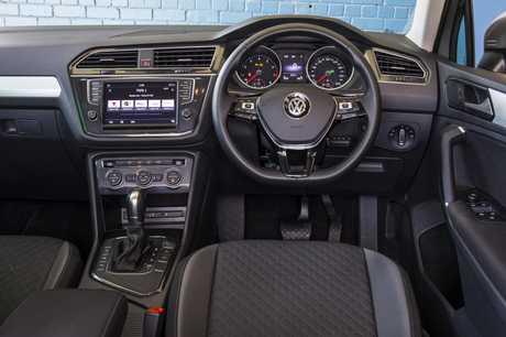 The Volkswagen Tiguan.