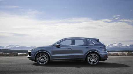 The 2018 Porsche Cayenne is due in Australia next year.