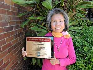 Maryborough women awarded for their Toastmaster mission