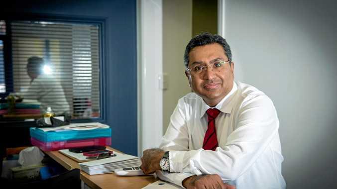 HERE TO HELP: Dr Vaibhav Tyagi.