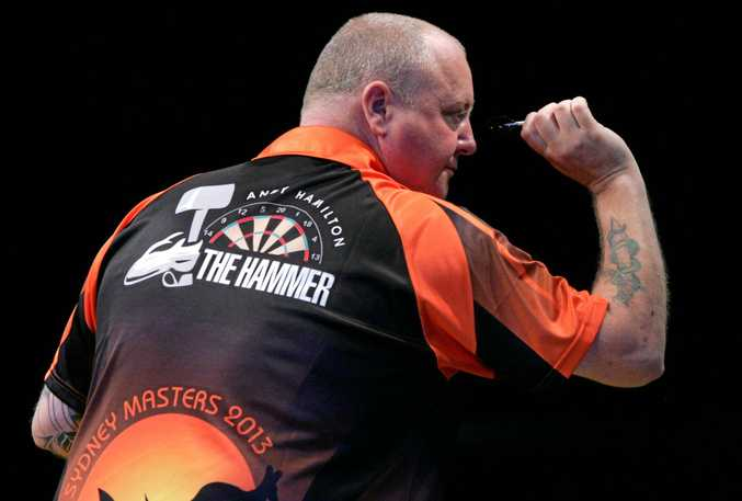 FORMER world championship runner-up Andy Hamilton will kick off the International Pro Darts Showdown Series when the inaugural tournament begins in Brisbane on Wednesday night.
