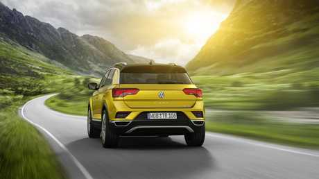 The 2018 Volkswagen T-Roc concept car.