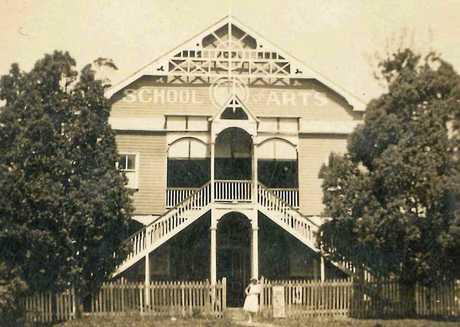 PRESERVING COMMUNITY ASSET: The Eumundi School of Arts, ca 1920.