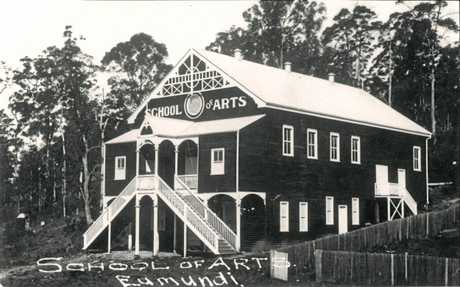 Eumundi School of Arts in 1914.