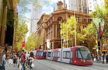 HASSELL'S DESIGNS: The Sydney CBD and South East Light Rail will transform and improve the way Sydney moves.Photo Contributed