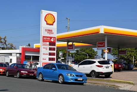 Shell Coles Express, Buddina