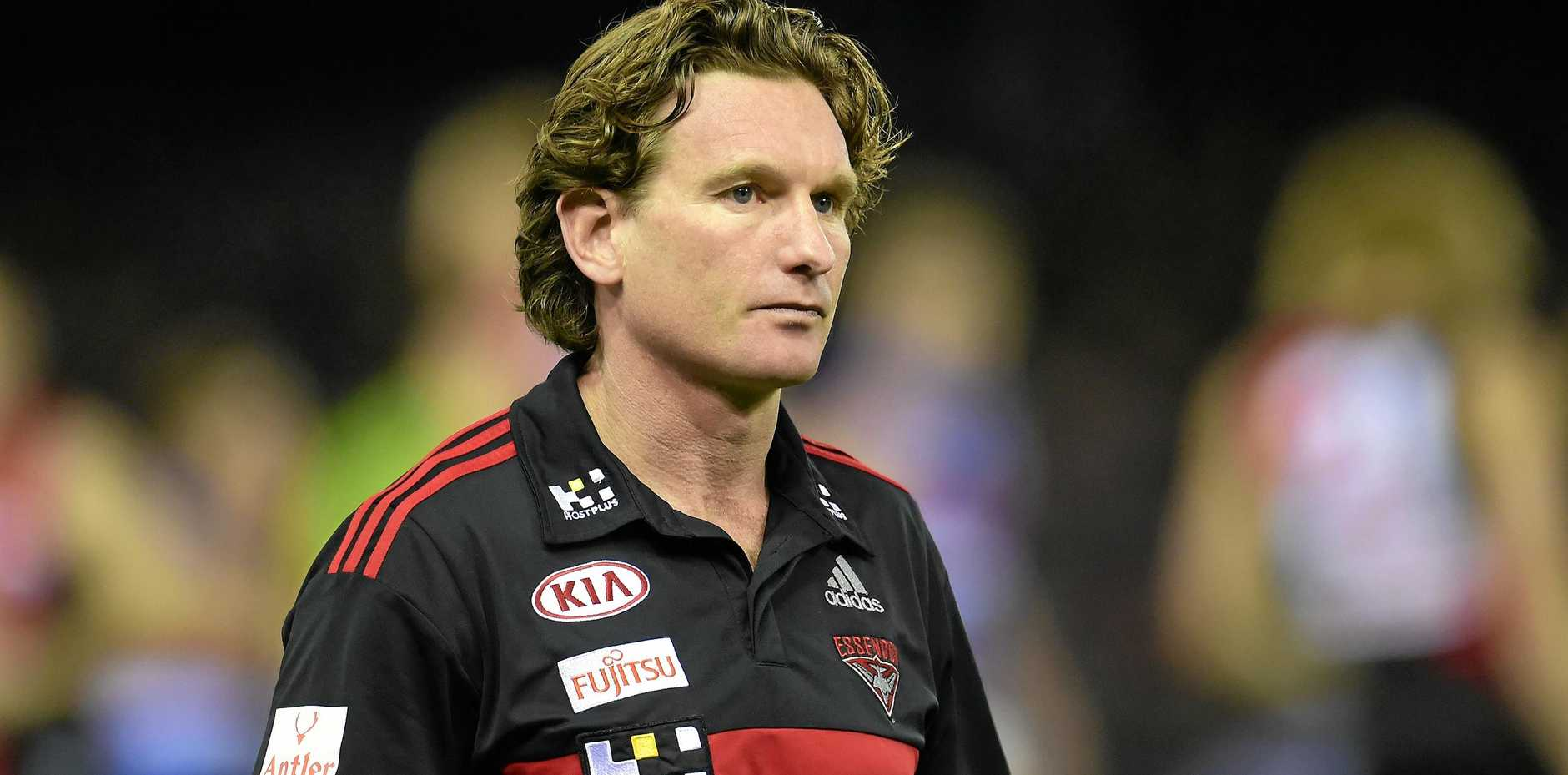 Former Essendon Bombers coach James Hird.