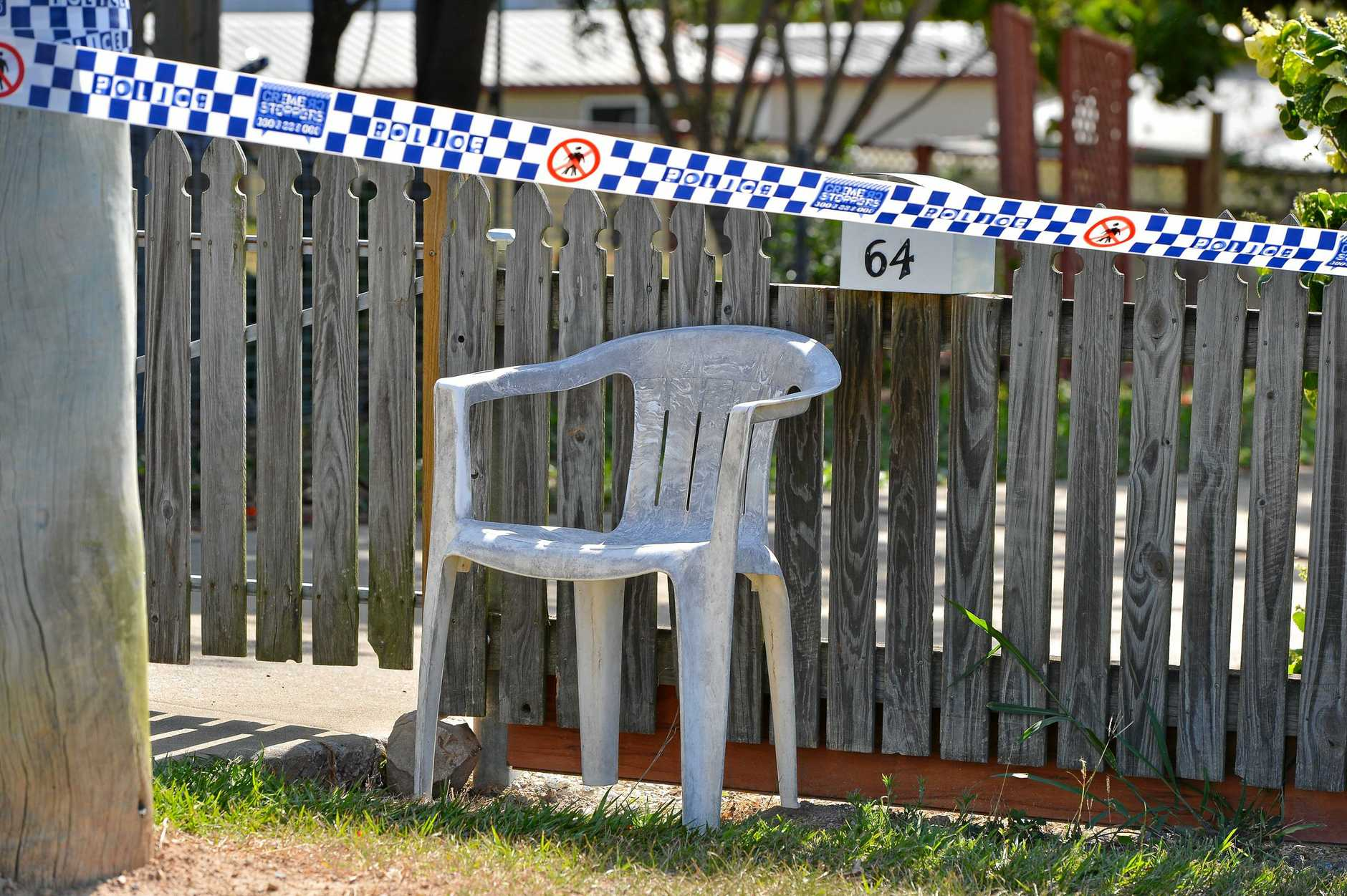 Fatal stabbing in South Gladstone. Photo Mike Richards / The Observer