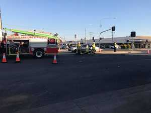 Three hospitalised after major crash at Biloela intersection