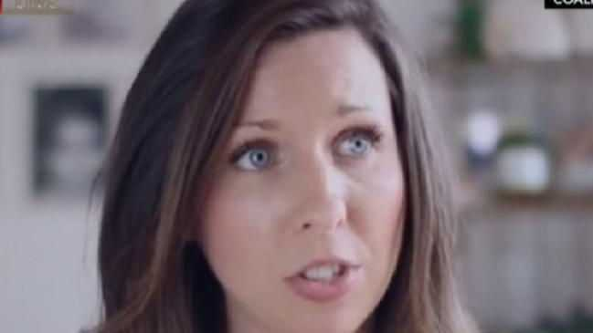 Heidi McIvor appeared in an ad opposing same-sex marriage. Picture: SuppliedSource:Supplied