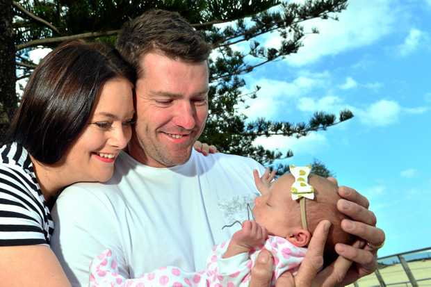 Stephen Milgate is celebrating his first Father's day. He and his wife Tamika went through IVF for 6 years, now their lives have been transformed with baby girl Aaliya.