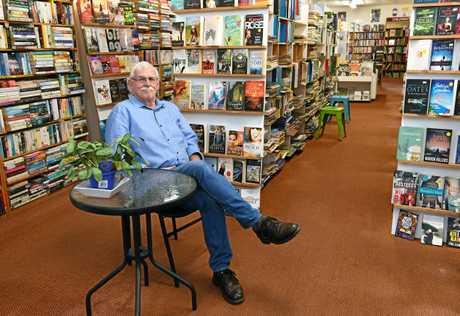 Alastair Elliott - Elliott's Bookshop and Boomerang Book Exchange.